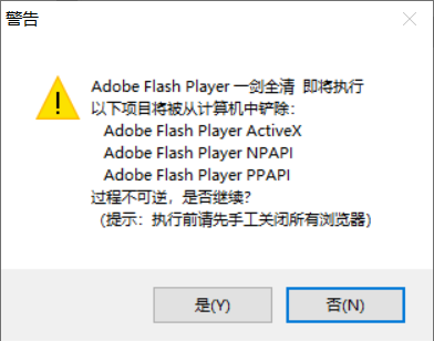 Adobe Flash Player一剑全清